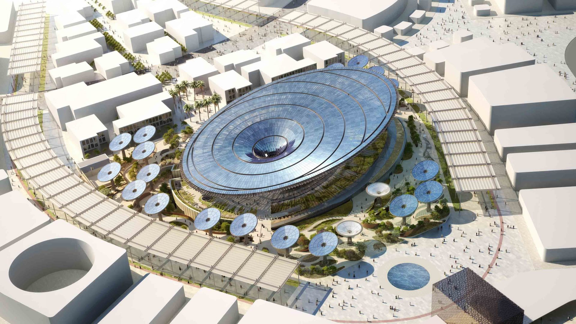 Discover the Sustainability District that will arrive at Expo Dubai 2020